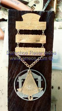 Medalla PM 3 Secciones
